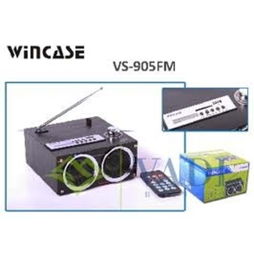 WINCASE VS-905FM FM RADYOLU MİNİ SPEAKER